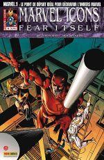 Marvel Icons T15 : Osborn, le retour ! (0), comics chez Panini Comics de Fraction, Hickman, Bendis, Larroca, Deodato Jr, Tocchini, Adams, d' Armata, Mounts, Beredo