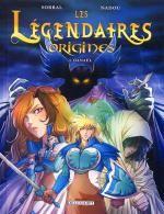 Les Légendaires - Origines T1 : Danaël (0), bd chez Delcourt de Sobral, Nadou
