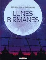 Lunes birmanes, bd chez Delcourt de Ansel, Garcia