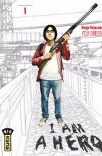 I am a hero T1, manga chez Kana de Hanazawa