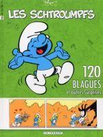 Les blagues de Schtroumpfs T5, bd chez Le Lombard de Peyo