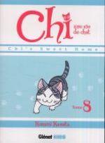 Chi - une vie de chat T8, manga chez Glénat de Konami