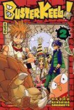 Buster keel T2, manga chez Kana de Sakamoto