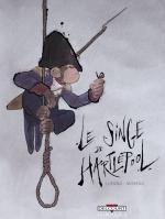 Le Singe de Hartlepool, bd chez Delcourt de Lupano, Moreau