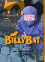 Billy Bat T3, manga chez Pika de Nagasaki, Urasawa