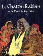 Le chat du rabbin T4 : Le paradis terrestre (0), bd chez Dargaud de Sfar, Findakly