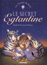 Les voyages de Kaël T2 : Le Secret d'Eglantine (0), bd chez Delcourt de Drommelschlager
