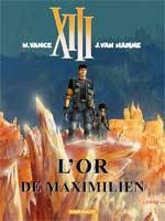 XIII T17 : L'or de Maximilien (0), bd chez Dargaud de Van Hamme, Vance, Petra
