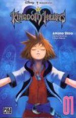 Kingdom hearts  T1, manga chez Pika de Shiro, Nomura
