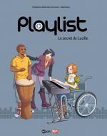 Playlist T1 : Le secret de Lucille (0), bd chez Bayard de Melchior-durand, Manboou, Blancher