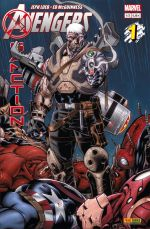 Avengers : X-Sanction T1, comics chez Panini Comics de Loeb, McGuinness, Hollowell