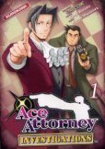 Ace attorney Investigations T1, manga chez Kurokawa de Kuroda, Capcom , Maekawa