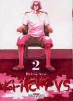 Ki-itchi VS T2, manga chez Delcourt de Arai
