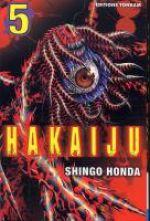Hakaiju T5, manga chez Tonkam de Honda
