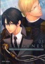 Ilegenes T3, manga chez Soleil de Kuwabara, Ishizue