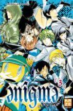 Enigma T3, manga chez Kazé manga de Sakaki