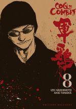 Coq de combat – réédition T8, manga chez Delcourt de Hashimoto, Tanaka
