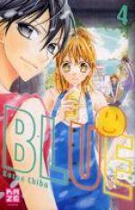 Blue T4, manga chez Kazé manga de Chiba
