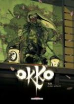 Okko – cycle 4 : Cycle du feu, T8, bd chez Delcourt de Hub, Michalak