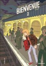 Bienvenue T2, bd chez Gallimard de Abouet, Singeon