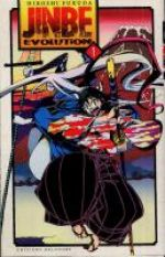 Jinbe evolution T1, manga chez Delcourt de Fukuda