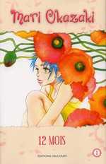 12 mois T1, manga chez Delcourt de Okazaki