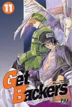 Get Backers T11, manga chez Pika de Aoki, Ayamine