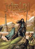 Merlin - La quête de l'épée T1 : Prophétie (0), bd chez Soleil de Istin, Demarez