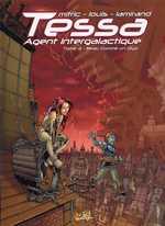 Tessa, agent intergalactique T3 : Beau comme un Diyo (0), bd chez Soleil de Mitric, Louis, Lamirand