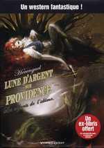 Lune d'argent sur Providence T1 : Les enfants de l'abîme (0), bd chez Vents d'Ouest de Hérenguel