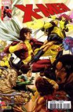X-Men (revue) – V 3, T4 : Tribus égarées (0), comics chez Panini Comics de Gillen, Gage, Land, Pacheco, Baldeon, Guru efx, Oback, Brooks