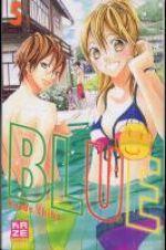 Blue T5, manga chez Kazé manga de Chiba