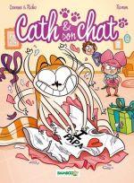 Cath et son chat T2, bd chez Bamboo de Richez, Cazenove, Ramon