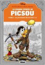 La Grande épopée de Picsou T1 : La Jeunesse de Picsou (0), comics chez Glénat de Rosa