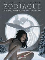 Zodiaque T11 : La malédiction du verseau (0), bd chez Delcourt de Corbeyran, Gajic