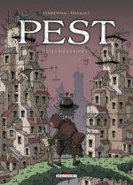 Pest T2 : Les boîtes noires (0), bd chez Delcourt de Corbeyran, Bouillez