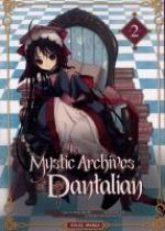 The mystic archives of Dantalian T2, manga chez Soleil de Mikumo, Yusuke (Green Wood), Abeno