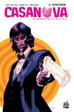 Casanova T1 : Luxuria (0), comics chez Urban Comics de Fraction, Moon, Ba, Peter