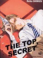 The top secret T10, manga chez Tonkam de Shimizu