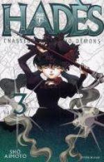 Hadès chasseur de psycho-démons T3, manga chez Delcourt de Aimoto