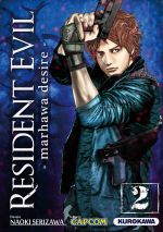 Resident evil - marhawa desire T2, manga chez Kurokawa de Capcom , Serizawa