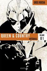 Queen & country T1, comics chez Akileos de Rucka, Fernandez, Rolston, Sakai, Sale, Hurtt