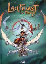Lanfeust de Troy – cycle 2, T5 : Le frisson de l'Haruspice (0), bd chez Soleil de Arleston, Tarquin, Lamirand, Livi