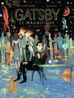 Gatsby le magnifique, bd chez Gallimard de Melchior-durand, Bachelier