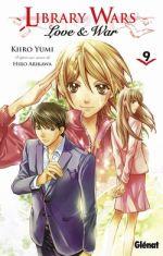 Library wars - Love & war  T9, manga chez Glénat de Arikawa, Yumi