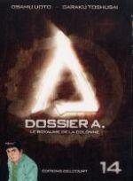 Dossier A. T14, manga chez Delcourt de Toshusai, Uoto