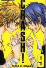 Crash !! T9, manga chez Tonkam de Fujiwara