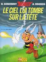 Astérix T33 : Le ciel lui tombe sur la tête (0), bd chez Albert René de Uderzo, Mébarki