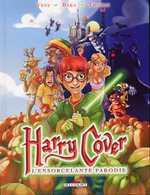 Harry Cover T1 : L'Ensorcelante Parodie (0), bd chez Delcourt de Veys, Baka, Thomas