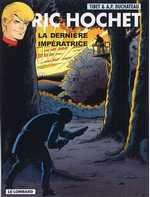 Ric Hochet T71 : La dernière impératrice (0), bd chez Le Lombard de Duchateau, Brichau, Tibet, Brichau